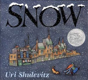 Snow by Uri Shulevitz - book cover